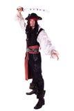 Man In Masquerade. pirate Stock Image