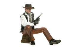 Man with a Mauser Royalty Free Stock Photos