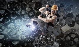 Man mechanic Stock Photo