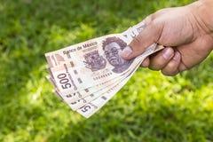 Man med pengar Royaltyfri Foto