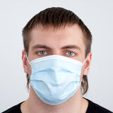Man in medical mask Royalty Free Stock Image