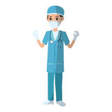 Man medical nurse Stock Photos