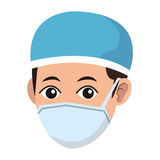 Man medical nurse Royalty Free Stock Photo