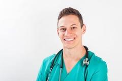 Man in medical uniform Stock Images