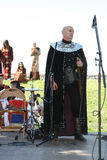 Man  in medieval clothes Royalty Free Stock Photos