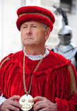 Man with medieval costume Royalty Free Stock Photo