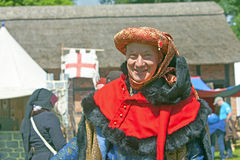 Man in medieval costume. Stock Photography