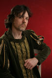 Man in medieval dress Royalty Free Stock Images
