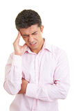 Man with migraine Stock Photography
