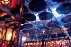 Man Mo Temple - Гонконг Стоковые Изображения RF