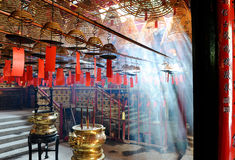 Man Mo Temple Royalty Free Stock Photos