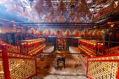 Man Mo Temple Стоковое Изображение