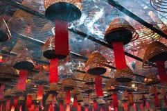 Man Mo Temple, Hong Kong. Stock Photography