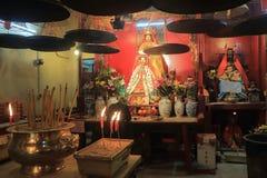 Man Mo Temple Hong-Kong Foto de archivo libre de regalías