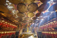 Man Mo Temple Stock Images