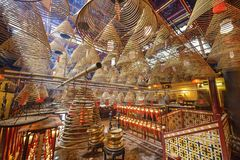 Man Mo Temple Stock Photo