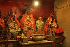 Man Mo temple in Hong Kong. China Royalty Free Stock Photography