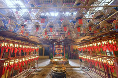 Man Mo Temple of Hong Kong Royalty Free Stock Photos