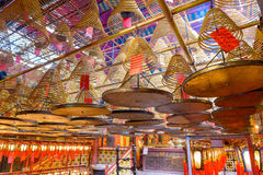 Man Mo Temple Stock Image