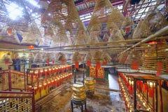 Man Mo Temple of Hong Kong Royalty Free Stock Photo