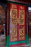 Man Mo Temple Hong Kong. Interior of Man Mo Temple Hong Kong. One of the oldest temples in Hong Kong, China, Asia Royalty Free Stock Image