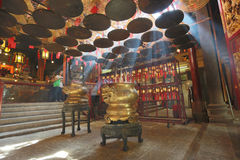 Man Mo Temple in Hong Kong Royalty Free Stock Image