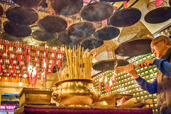 Man Mo Temple, Royalty Free Stock Photography