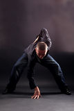 Man modern dancer Stock Images
