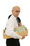 Man with money Stock Photos