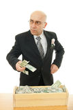 Man with money Stock Images