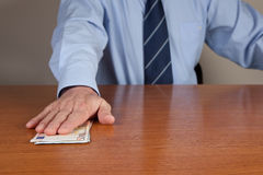 Man And Money Royalty Free Stock Image