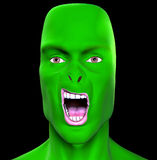 Man Monster 3. This is a scary Monster Stock Photography