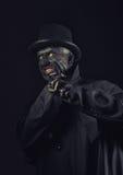 Man in monster makeup Stock Photo