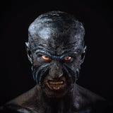 Man in monster makeup Royalty Free Stock Image