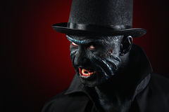 Man in monster makeup Stock Photography