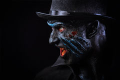 Man in monster makeup Stock Image