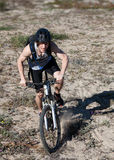 Man mountain bike Stock Photos