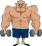 Man of muscle Royalty Free Stock Image
