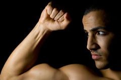 Man with muscles Royalty Free Stock Image
