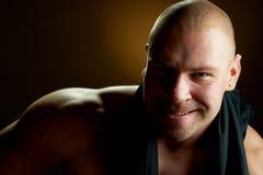 man muscular Στοκ Εικόνα