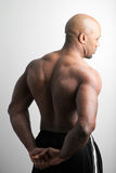 Man with Muscular Back Stock Image