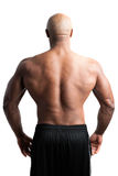 Man with a Muscular Back Royalty Free Stock Image