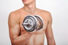 man muscular sexy Στοκ φωτογραφία με δικαίωμα ελεύθερης χρήσης