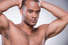man muscular strong Στοκ Εικόνα