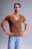 man muscular young στοκ εικόνες με δικαίωμα ελεύθερης χρήσης