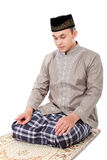 Man muslim doing prayer Royalty Free Stock Images