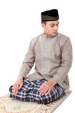Man muslim doing prayer Royalty Free Stock Photos