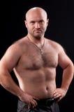 Man with naked torso Stock Photos
