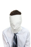 Man With No Face Royalty Free Stock Image