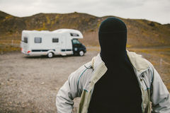 The Man with No Face Royalty Free Stock Image